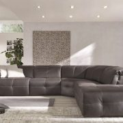 Aiko Upholstery Leather Sectional