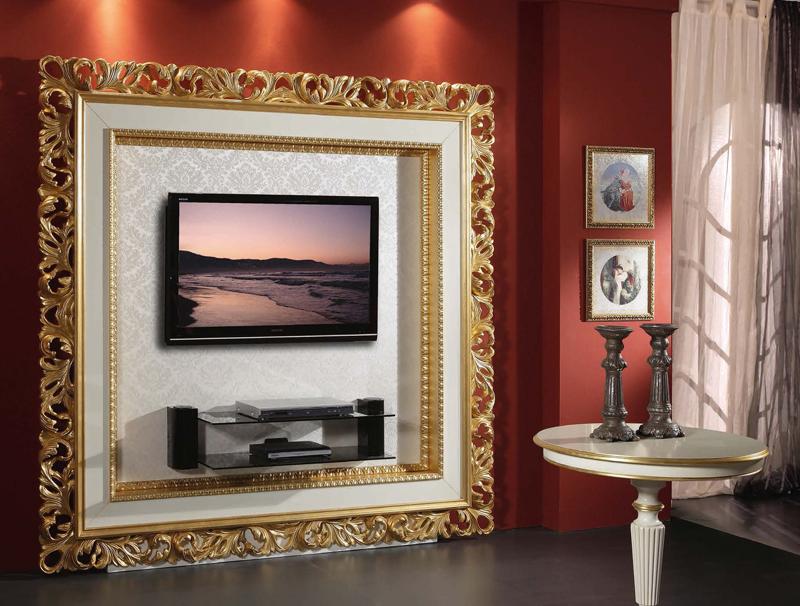 Martin daniel interiors classic carved wood entertainment unit