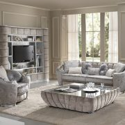 Glamour Collection Sofa, Arm Chair and Chaise Lounge