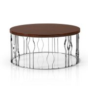 Grid Coffee Round Table