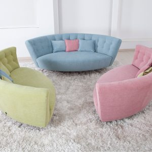LULU CURVED SOFA