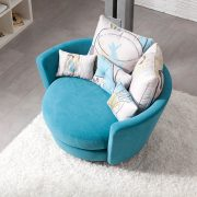 MYNEST OVERSIZE CURVED SWIVEL CHAIR