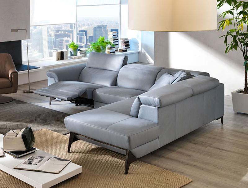 Martin Daniel Interiors Micol Reclining Leather Sofa Collection