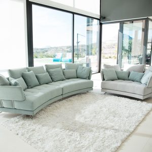 PACIFIC MODULAR CURVED SOFA
