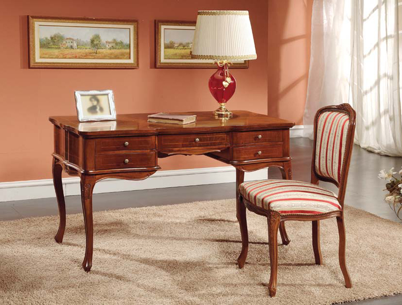 Sensational Martin Daniel Interiors Traditional Wood Writing Desk Home Interior And Landscaping Synyenasavecom