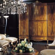 Venezia Classic Italian Bedroom Large Armoire