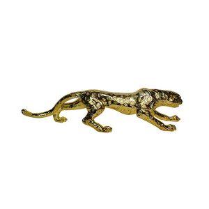 Modern-Golden-Leopard-Statue