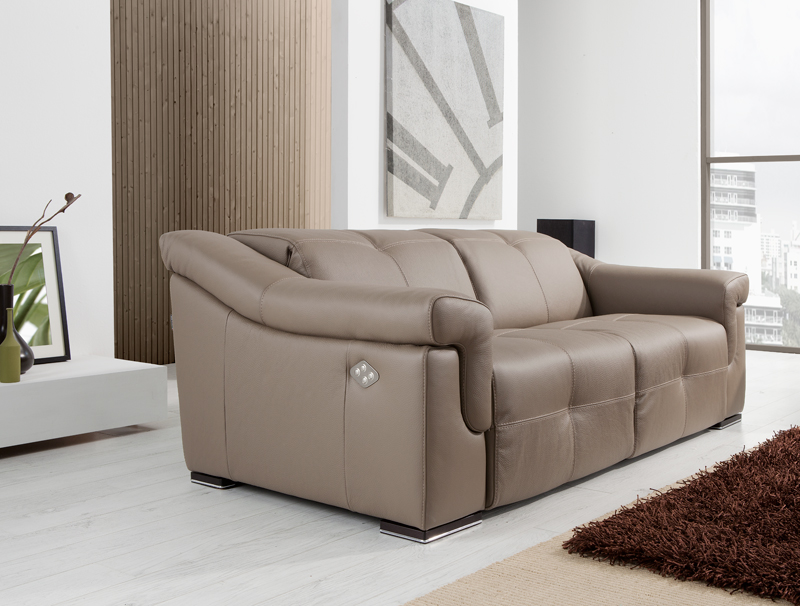 Martin Daniel Interiors Aiko Reclining Leather Sofa Collection