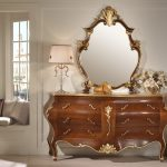 Classic Carved Wood Bedroom Dresser
