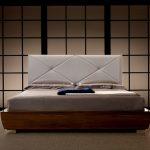 Leather Upholstered King Size Bed