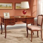 Traditional Wood Writing Desk