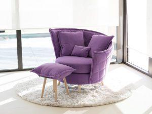 Martin Daniel Interiors Volta Fabric Arm Chair