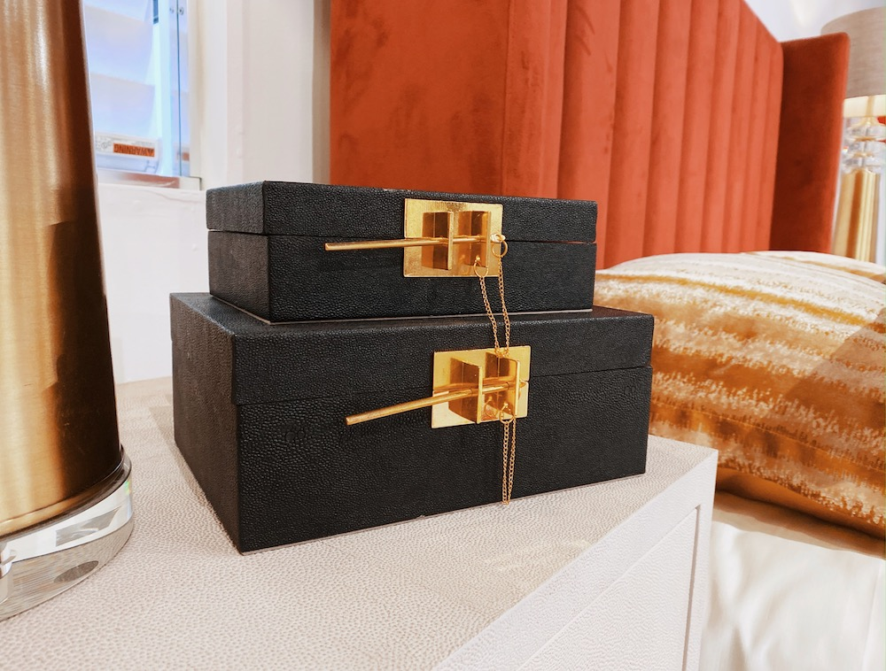 luxury home accents boxes